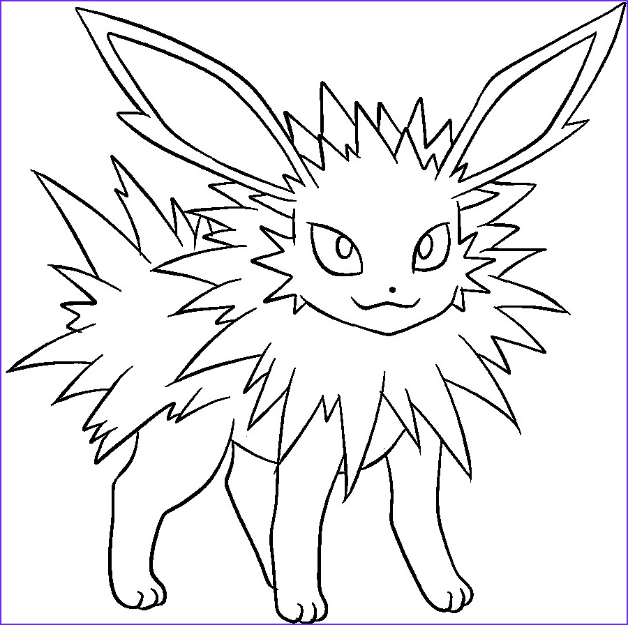Eevee Evolutions Coloring Page Cool Photos Eevee Evolution Coloring Pages at Getcolorings