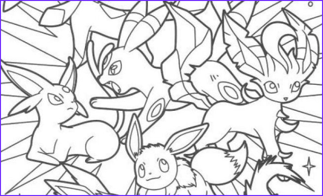 Eevee Evolutions Coloring Page Inspirational Collection Best Pokemon Eevee Evolutions Coloring Pages