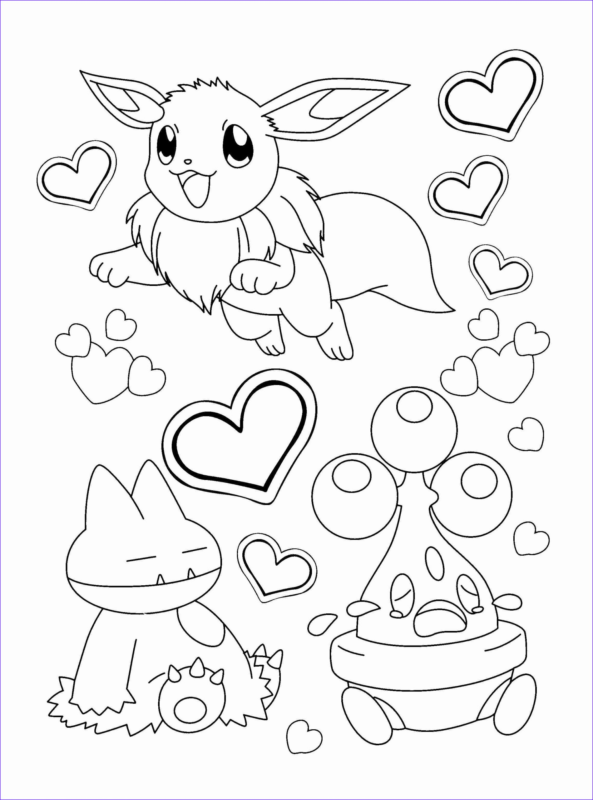 Eevee Evolutions Coloring Page Inspirational Gallery High Quality Coloring Pages at Getcolorings