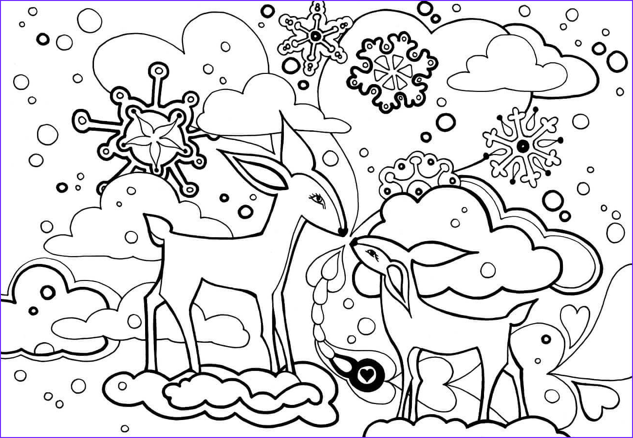 Free Winter Coloring Page Awesome Images Free Printable Winter Coloring Pages
