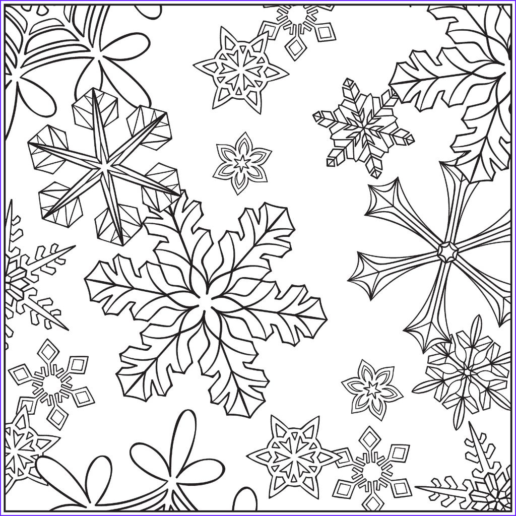 Free Winter Coloring Page Beautiful Images Free Printable Winter Coloring Pages for Kids