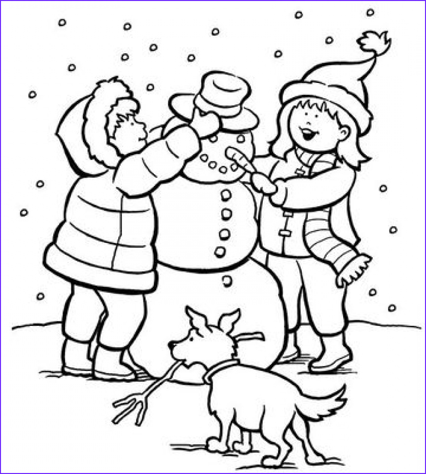 Free Winter Coloring Page Inspirational Photography Get This Printable Winter Coloring Pages