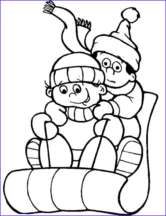 Free Winter Coloring Page New Stock Free Printable Winter Coloring Pages For Kids