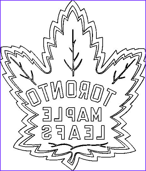 Maple Leaf Coloring Page Unique Photos toronto Maple Leafs Coloring Pages Learny Kids