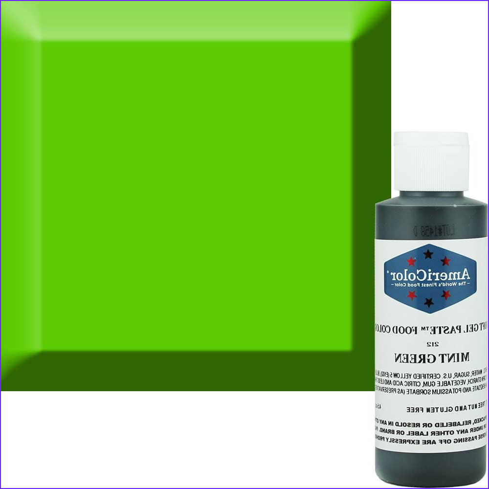 Mint Green Food Coloring Beautiful Collection Mint Green soft Gel Paste™ Food Color Acr 212
