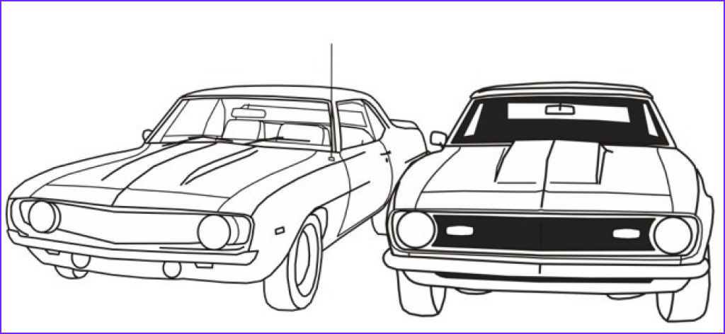 Muscle Car Coloring Book Beautiful Photography Free Printable Muscle Car Coloring Picture For Boys