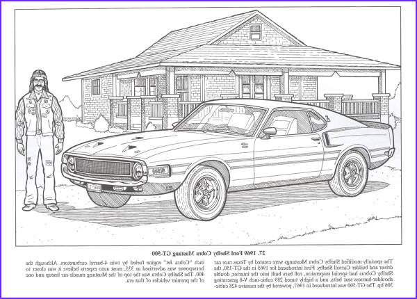 Muscle Car Coloring Book New Stock American Muscle Cars Coloring Book