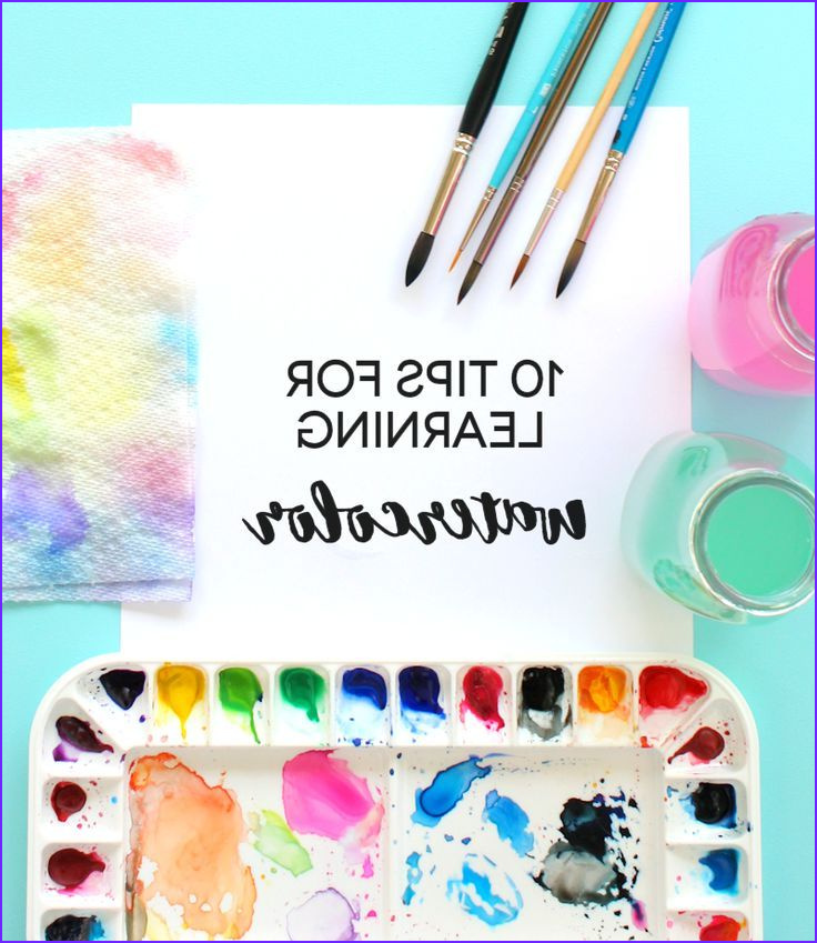 New Coloring Techniques New Photos 10 Tips for Learning Watercolor Great for Beginners