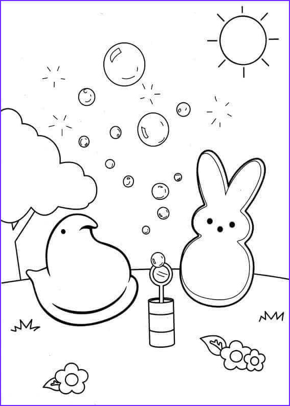 Peeps Coloring Page Awesome Photos Free Peeps Coloring Pages Printable Centenario