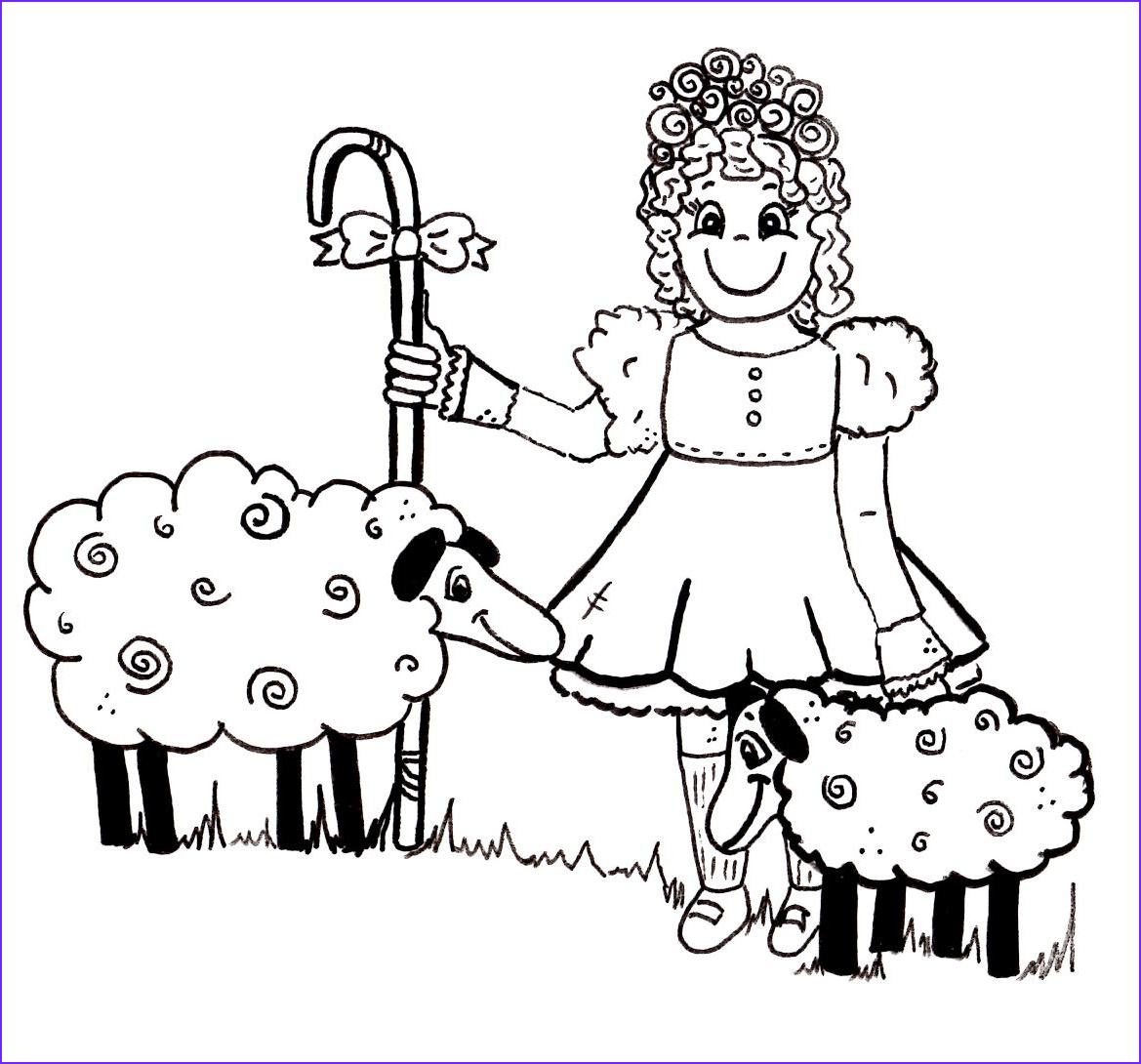 Peeps Coloring Page Awesome Photos Little Bo Peep Coloring Pages Coloring Home