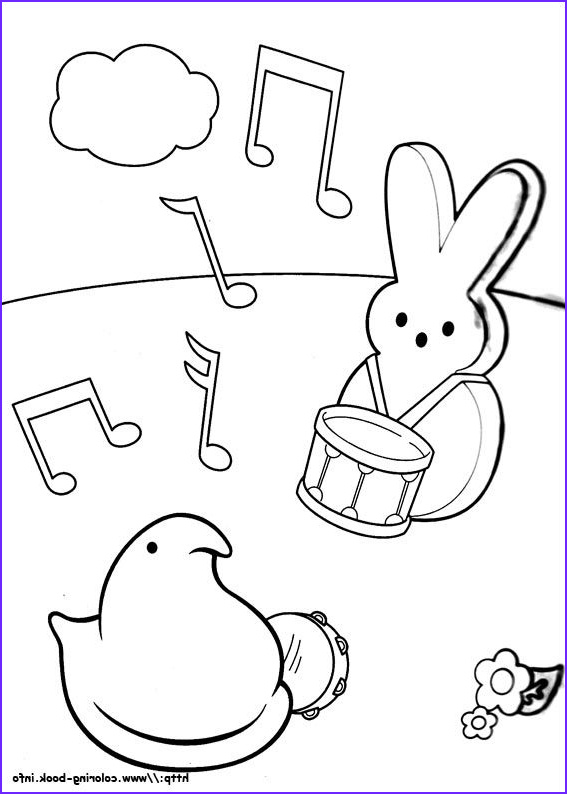 Peeps Coloring Page Beautiful Photos Marshmallow Peeps Coloring Picture