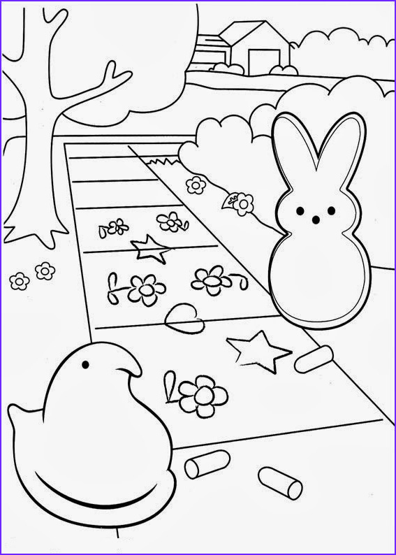 Peeps Coloring Page Best Of Photos Fun Coloring Pages Marshmallow Peeps Coloring Pages