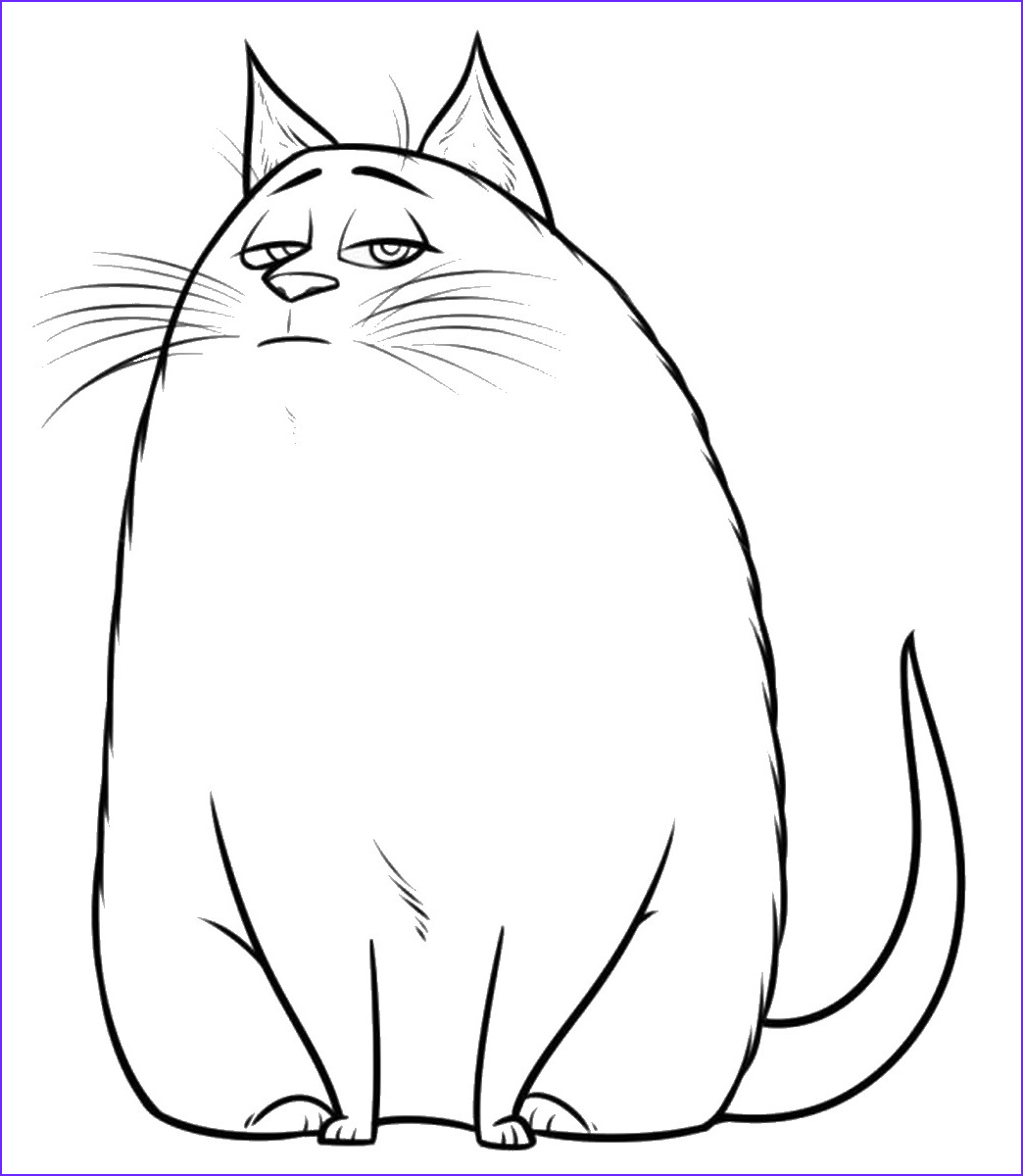 The Secret Life Of Pets Coloring Page Beautiful Image The Secret Life Of Pets Coloring Pages