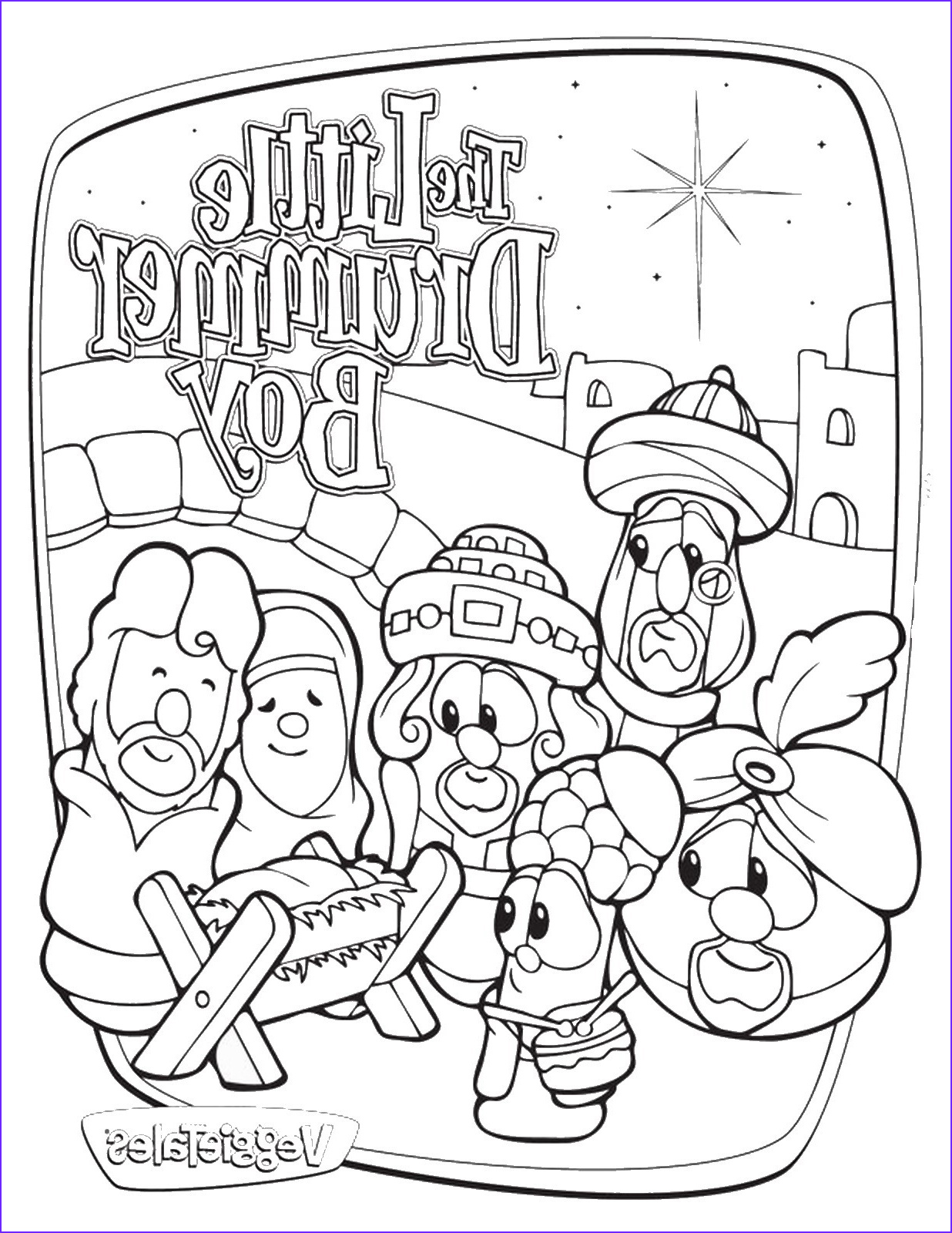 Veggie Tales Coloring Book Luxury Stock Veggie Tales Coloring Pages