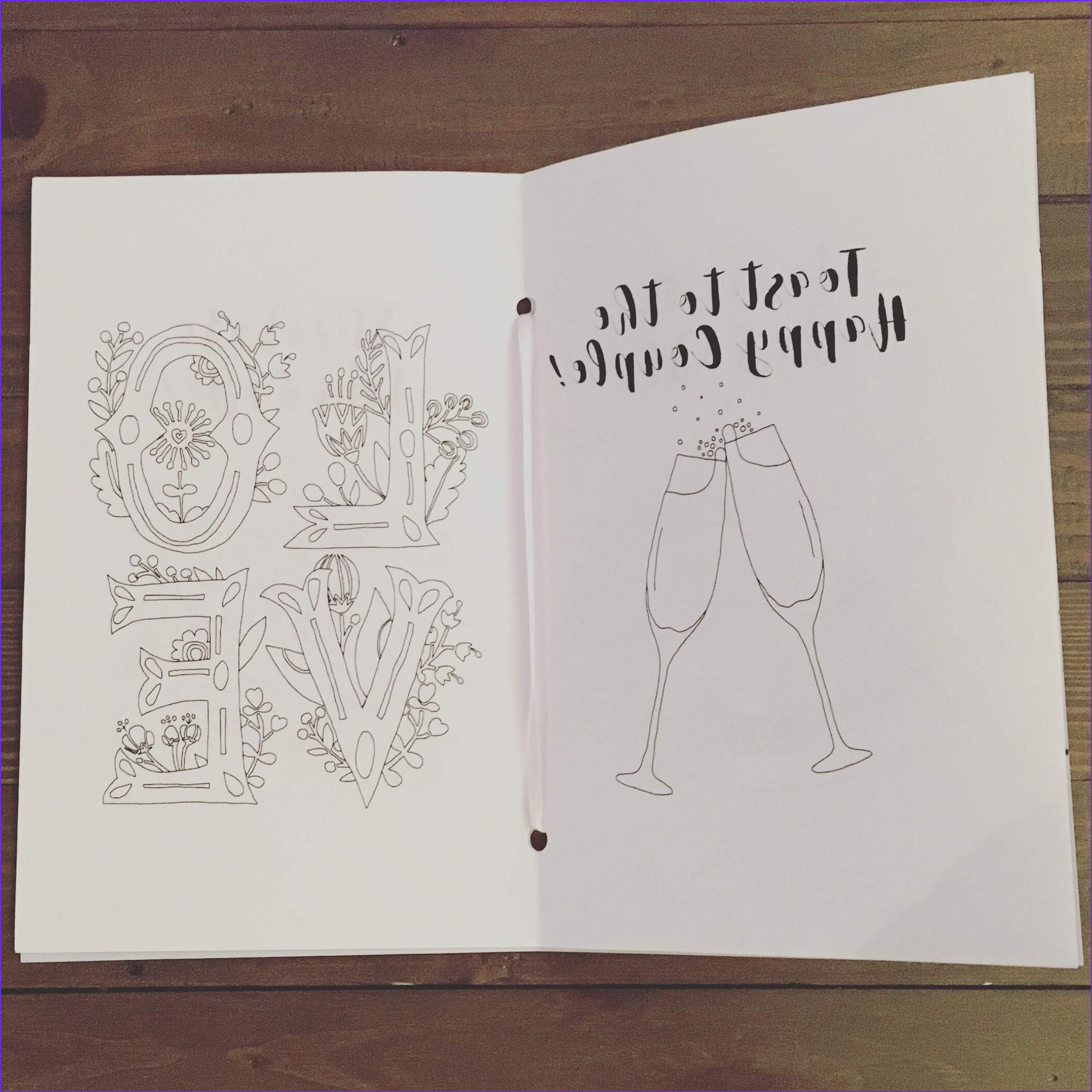 Wedding Themed Coloring Page Best Of Photos Toast To The Happy Couple Wedding Themed Coloring Page