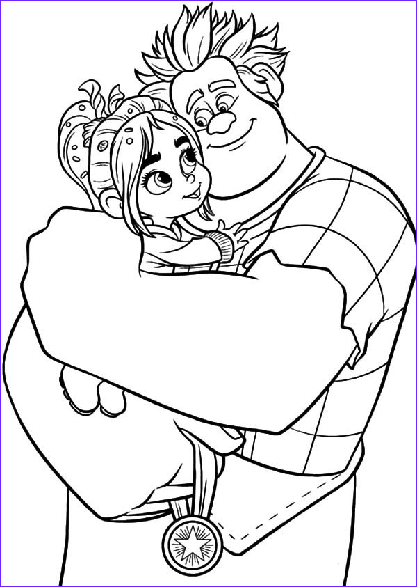 Wreck It Ralph Coloring Book Cool Gallery Wreck It Ralph Coloring Pages Best Coloring Pages for Kids
