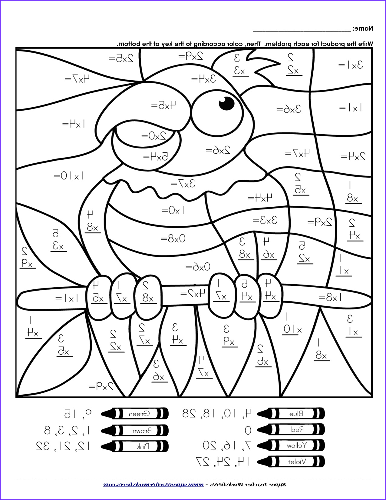 Printable Coloring Pages For Second Grade