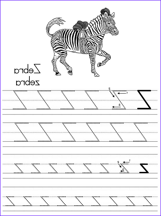A Z Coloring Pages Bestofcoloring
