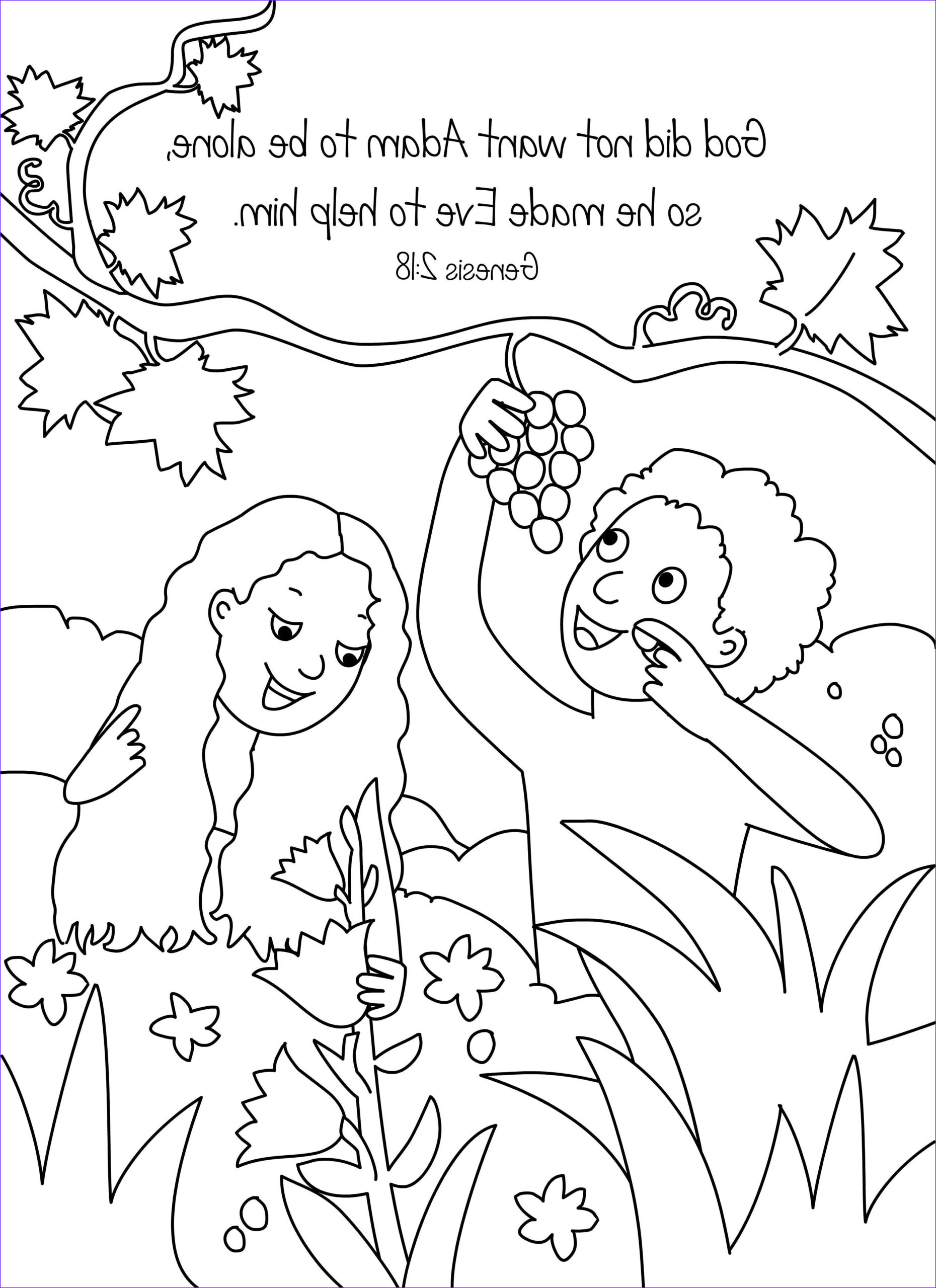 Adam and Eve Coloring Sheet Beautiful Gallery Bible Key Point Coloring Page Adam and Eve