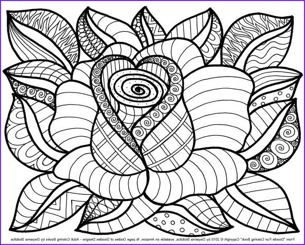 Adult Coloring Books Flowers Elegant Images Best 25 Flower Coloring Pages Ideas On Pinterest