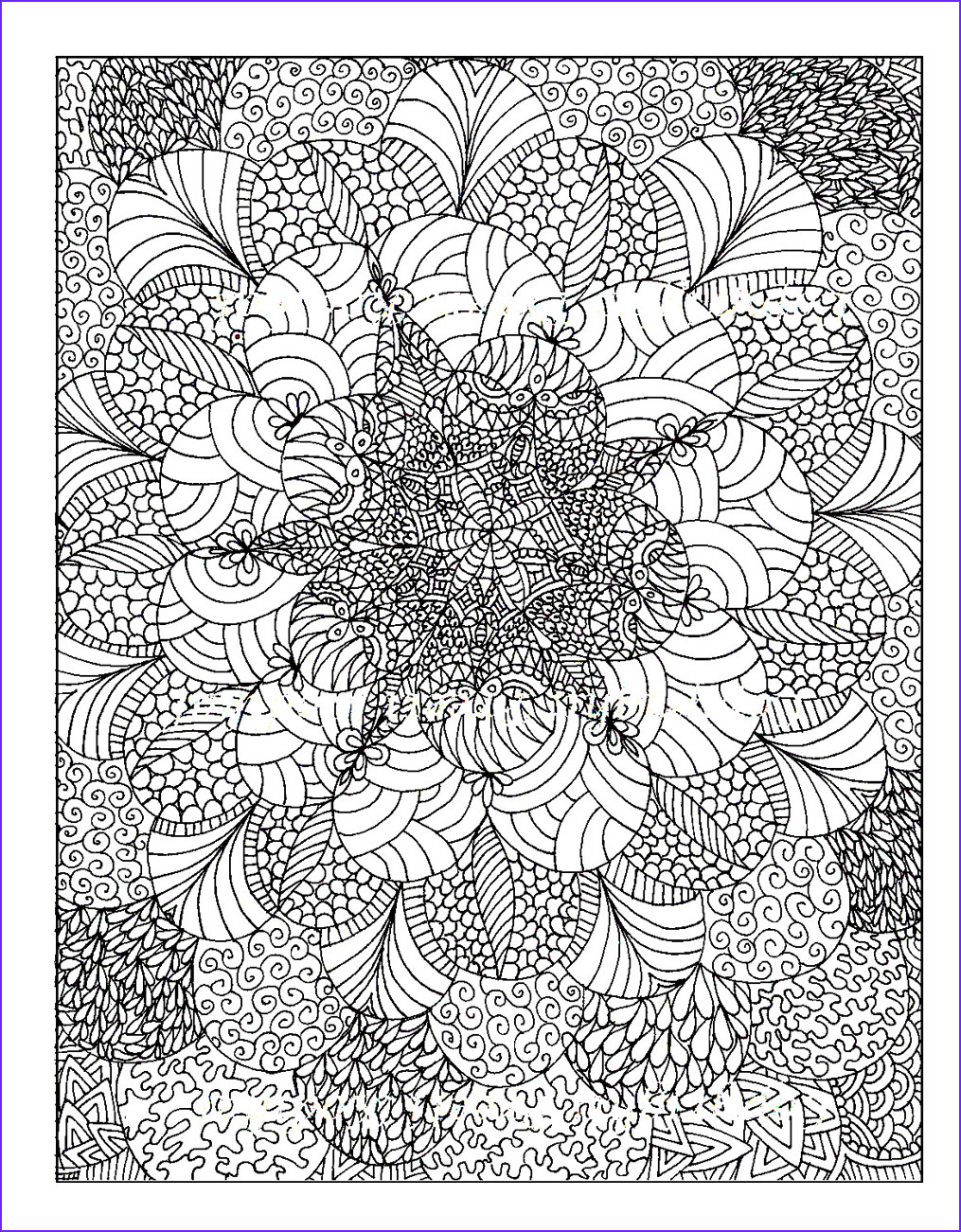 wellbeing wednesday colouring in for adults relaxation