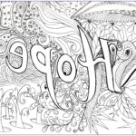 Adult Coloring Books For Stress New Photography Hope Anti Stress Adult Coloring Pages Page 3