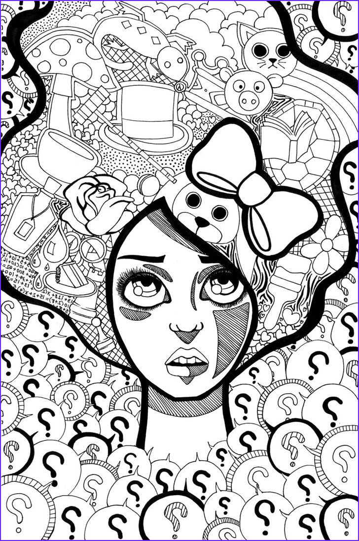 Adult Coloring Books for Stress Unique Photos Trippy Coloring Pages