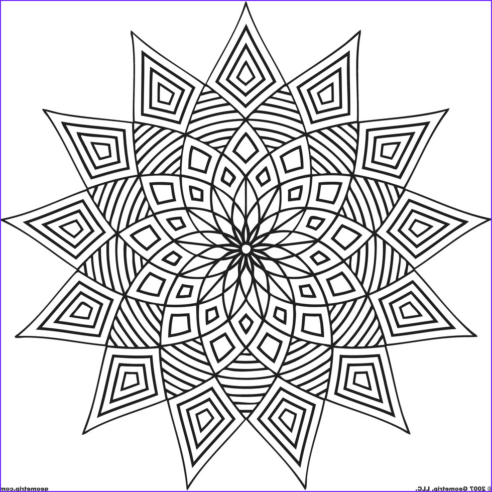 Adult Coloring Pages Mandalas Luxury Gallery these Printable Mandala and Abstract Coloring Pages