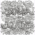 Adult Coloring Pages Quotes Awesome Gallery Free Book Quote 9 Quotes Adult Coloring Pages