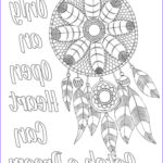 Adult Coloring Pages Quotes Best Of Gallery Free Adult Coloring Page Dream Catcher With Quote …