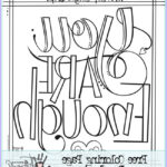Adult Coloring Pages Quotes Cool Image 12 Inspiring Quote Coloring Pages For Adults–free