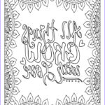 Adult Coloring Pages Quotes Inspirational Photos Quote Coloring Pages For Adults And Teens Best Coloring