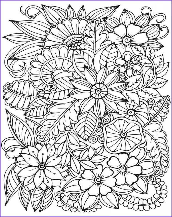 Adult Flower Coloring Pages Awesome Photos Adult Coloring Books Amazing Coloring Book for Adults