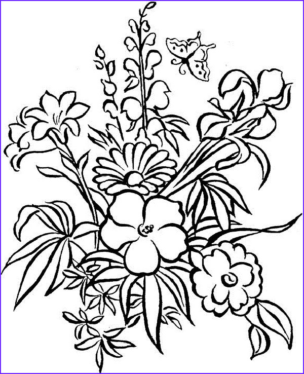 flower mandala coloring page 1 flowers coloring pages