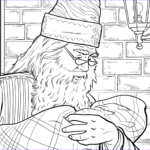 Adult Harry Potter Coloring Book New Images Get A Sneak Peek Of The New Harry Potter Coloring Book
