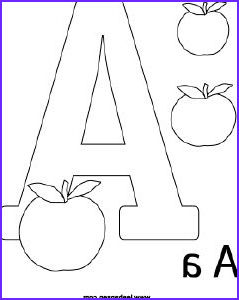 Alphabet Coloring Pages Pdf Awesome Gallery 1000 Images About Letter A On Pinterest