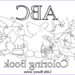 Alphabet Coloring Pages Pdf New Stock Coloring Pages — Little Bunny Series