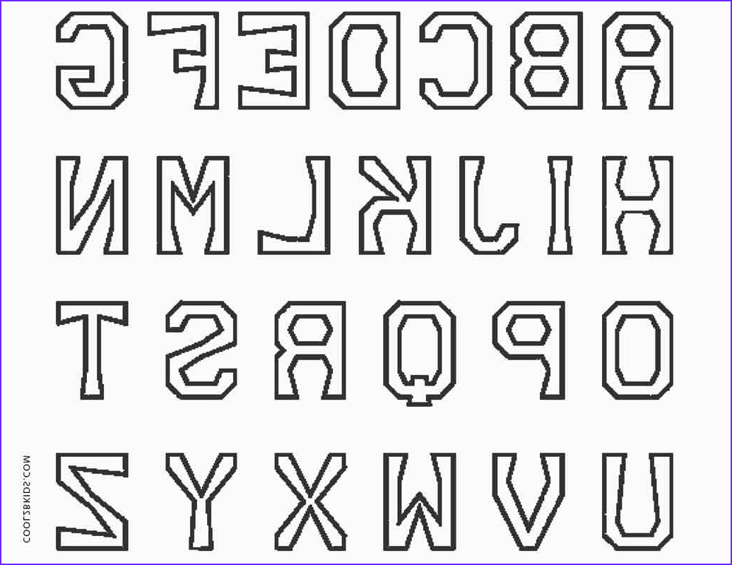 Alphabets Coloring Sheets Unique Stock Free Printable Abc Coloring Pages for Kids