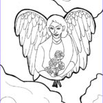 Angel Coloring Book Best Of Collection Guardian Angel Coloring Page Clip Art A Coloring Page