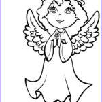 Angel Coloring Book Best Of Images Free Printable Angel Coloring Pages for Kids