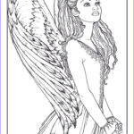 Angel Coloring Book Elegant Photos 63 Best Angels Coloring Pages For Adults Images On