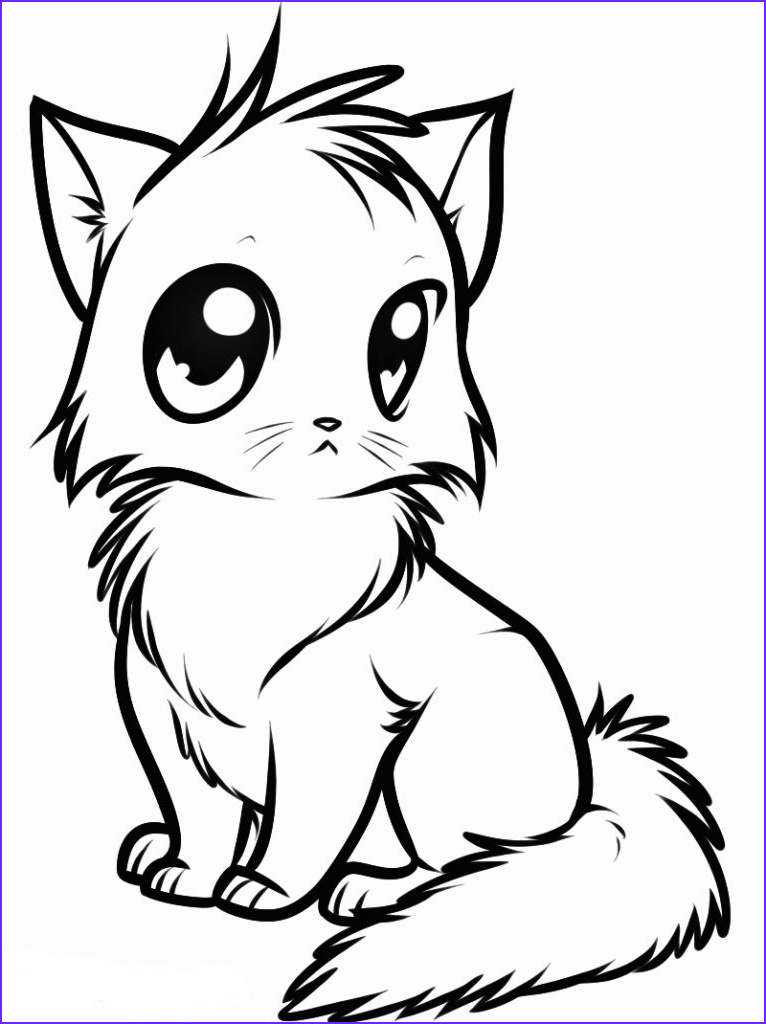 Animal Coloring Pictures Beautiful Gallery Cute Animal Coloring Pages Best Coloring Pages for Kids