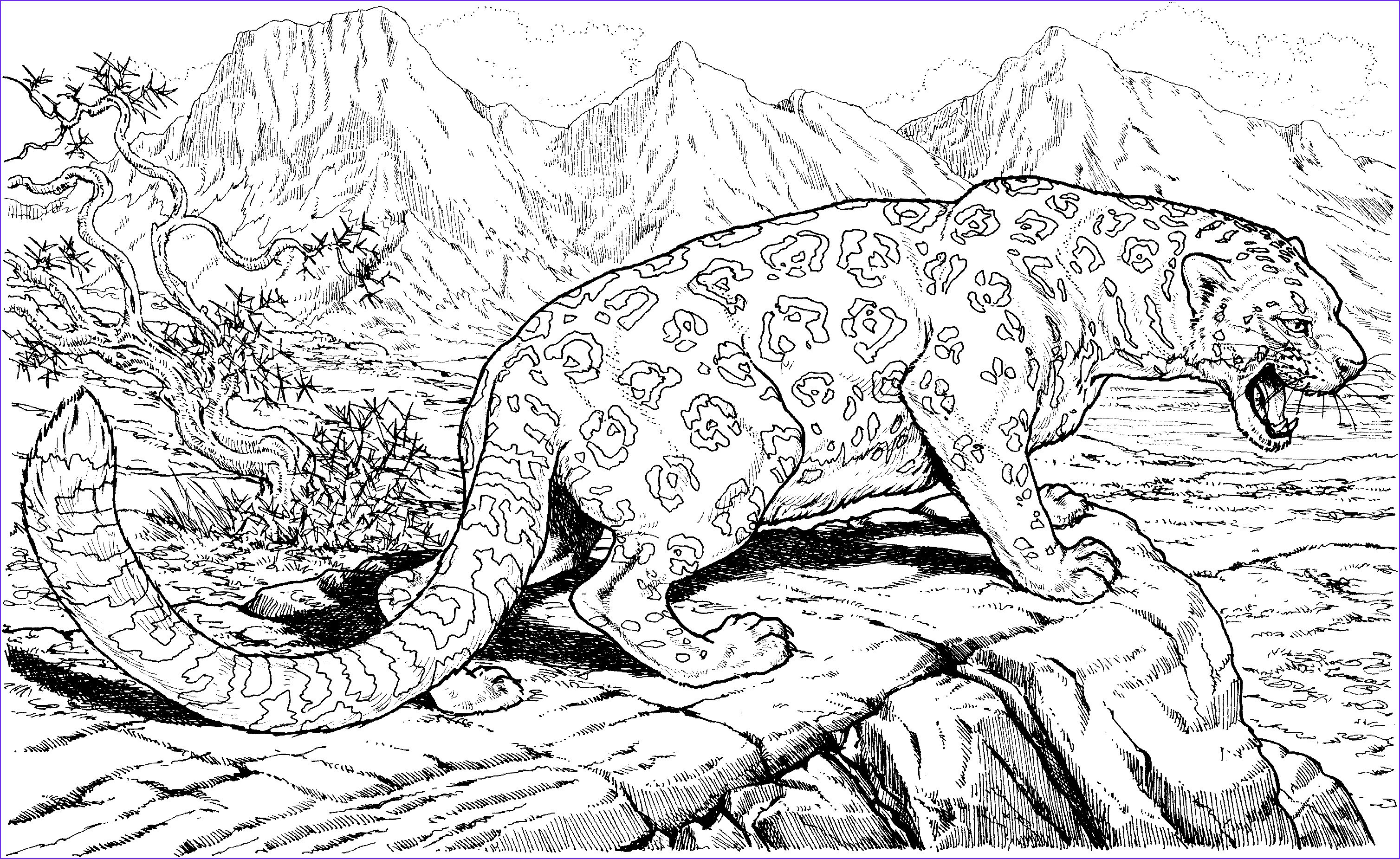 Animal Coloring Pictures Beautiful Photography Detailed Animal Coloring Pages Bestofcoloring