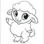 Baby Animal Coloring Pages Beautiful Photos Cute Animal Coloring Pages Best Coloring Pages For Kids