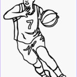 Basketball Coloring Page Beautiful Photography Basketball Player Coloring Pages
