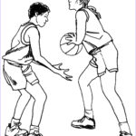 Basketball Coloring Page Inspirational Gallery Basketball Coloring Pages