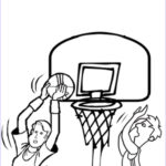 Basketball Coloring Page Inspirational Stock Print & Download Interesting Basketball Coloring Pages
