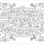 Bible Verse Coloring Pages For Adults New Stock Adult Colouring Page