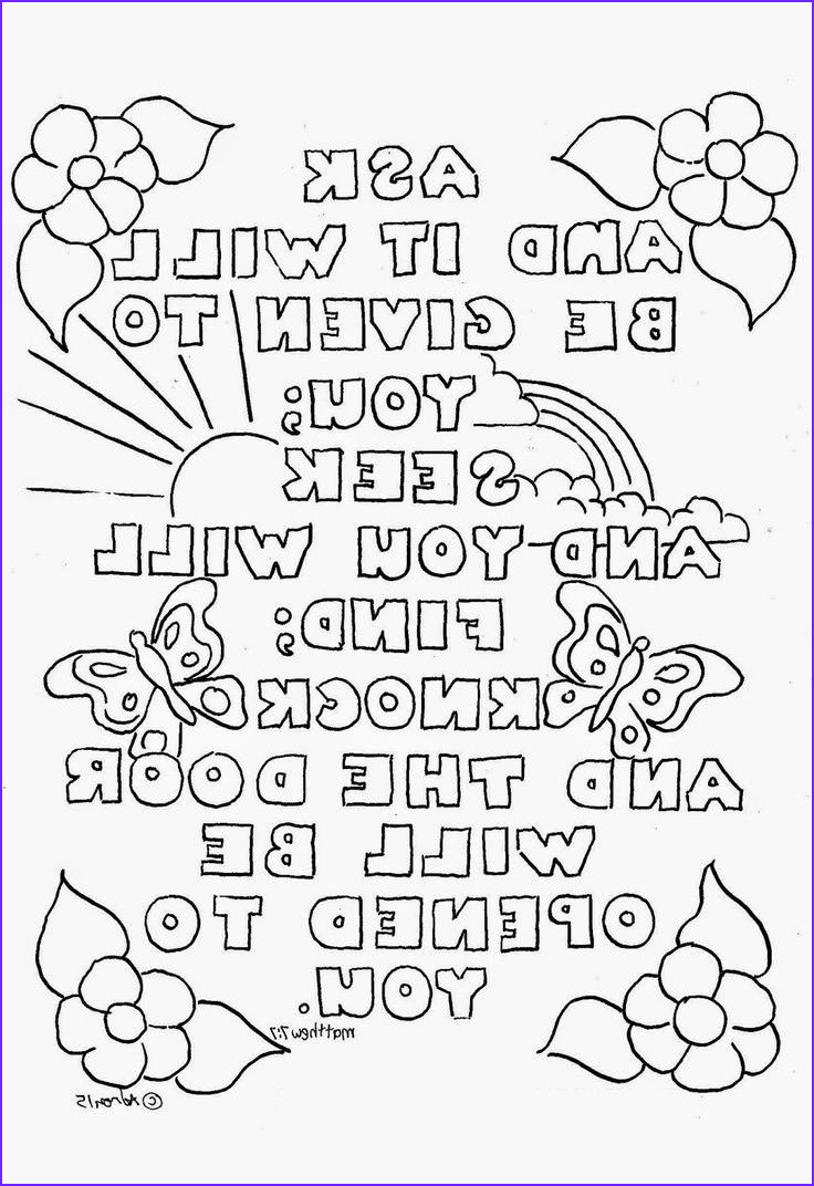 Bible Verse Coloring Pages for Adults Unique Photos 101 Best Bible Coloring Pages Images On Pinterest