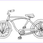 Bike Coloring Pages Beautiful Photos Cruiser Bicycle Coloring Page